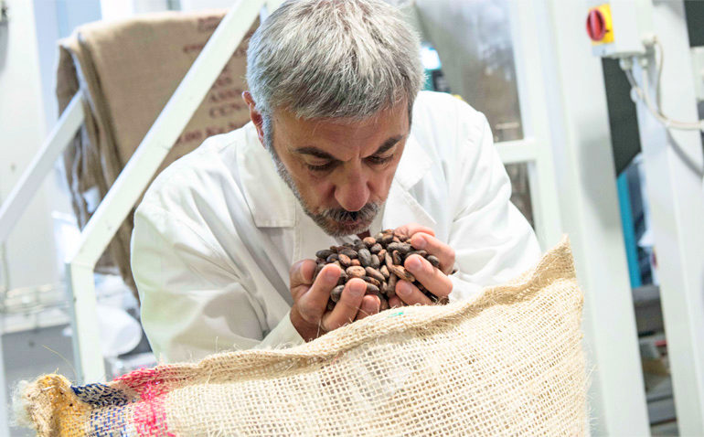 L'alta qualità del cioccolato Guido Gobino