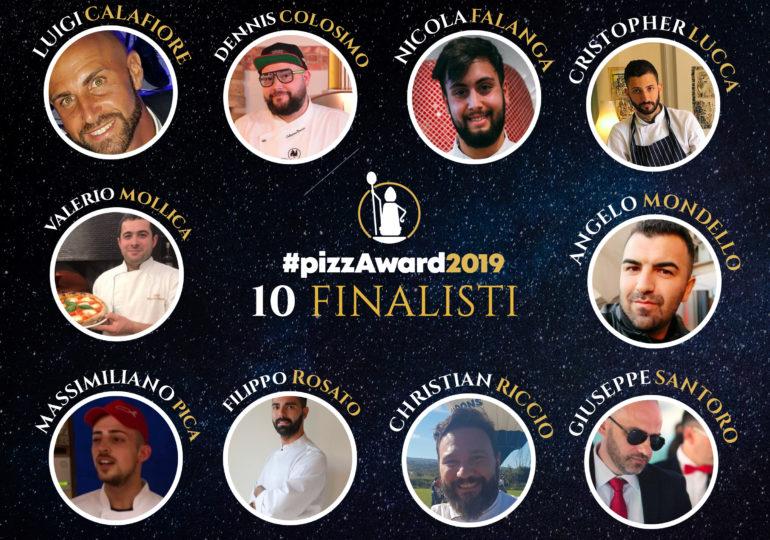 10 FINALISTI DEL CONTEST INTERNAZIONALE #PIZZAWARD