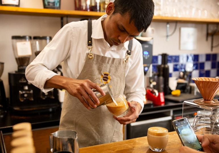 Coffee experience nella bottega di caffè speciali Campana di Pompei