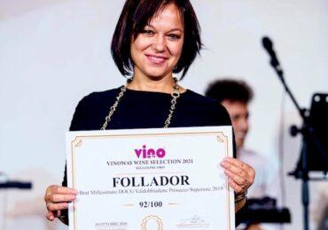 Follador Prosecco si aggiudica i Premi Gold & Silver al Vinoway Wine Selection