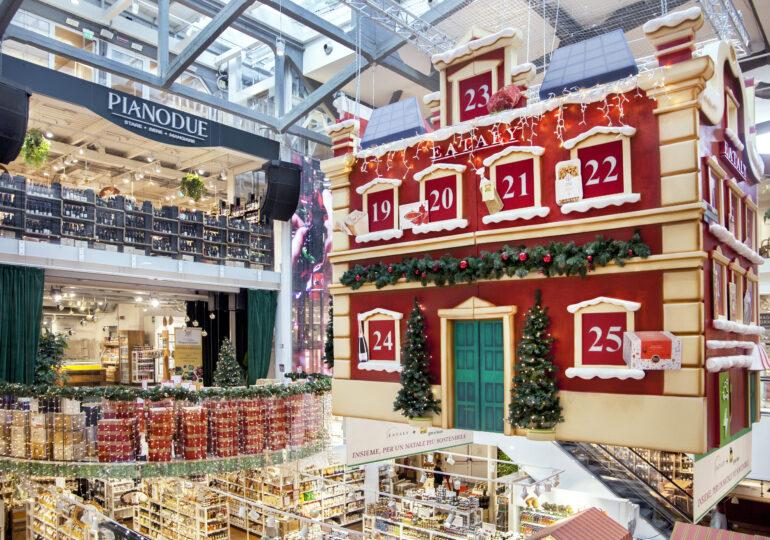 Il Natale di Eataly Milano Smeraldo