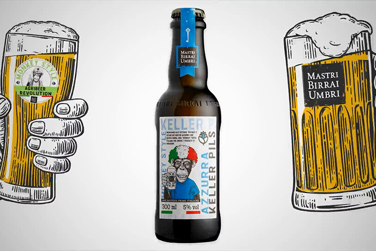 Azzurra la prima birra bionda...
